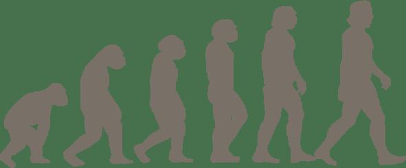 日常生活での偏った体の使い方のイラスト