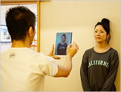 2.Before&Afterの写真撮影の写真