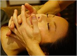 3.顔の筋肉の調整の写真